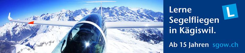 Lerne Segelfliegen Flugschule