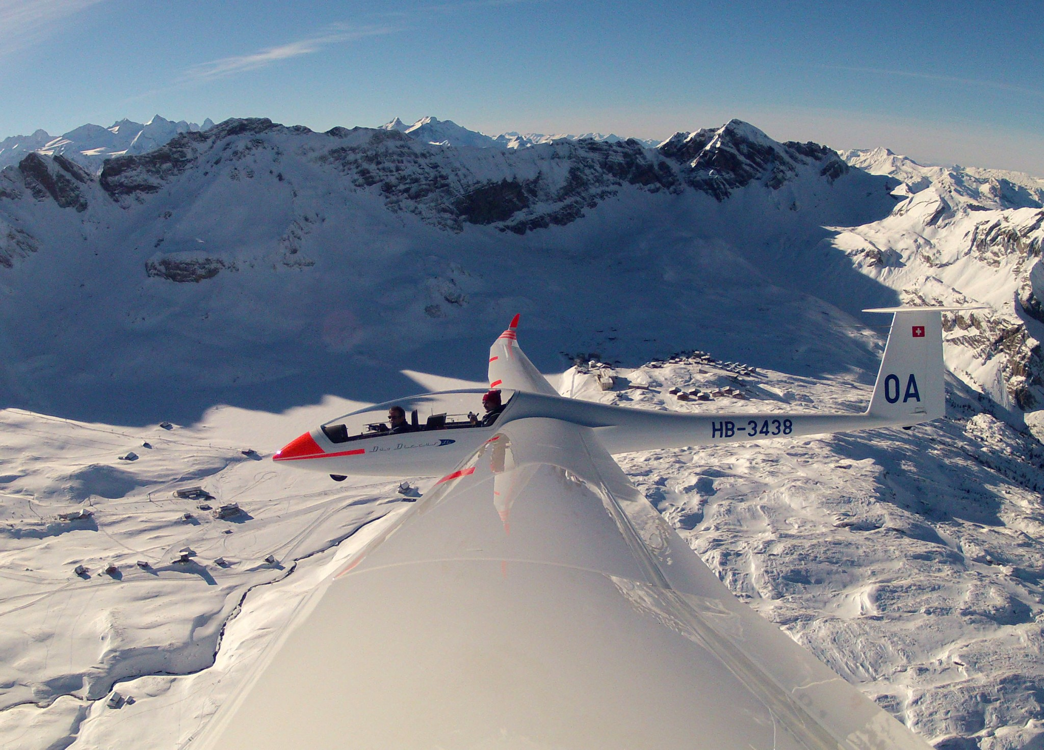 Passagierflug Obwalden